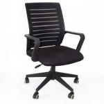 Office & Home Mesh Chair TORINO Big Black Modern
