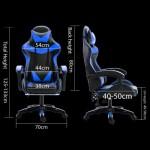 Gaming Chair Legacy Racing GC030 Blue & Black