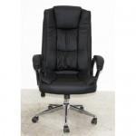 Executive Modern MANAGER Big Chair OC110 Steel Chrome Black