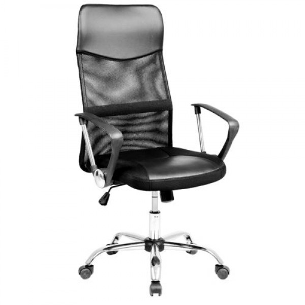 Office & Home Mesh Chair Monti Large HB Black