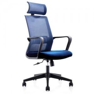 Executive Modern Mesh Chair Large Blue