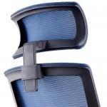 Executive Modern Mesh Chair Large Blue